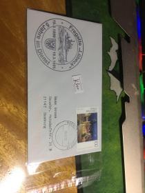 外國信封,海軍封,1995,f214,20190819