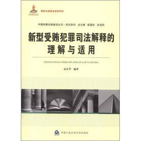 新型受贿犯罪司法解释的理解与适用(国家出版基金资助项目 中国刑事法制建设丛书)