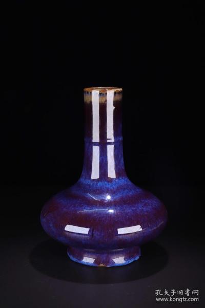 窯變釉長頸瓶