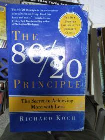 特价~The 80/20 Principle:The Secret to Achieving More with Less全外文版9780385491747