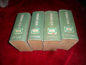 中國醫學大辭典  全四冊