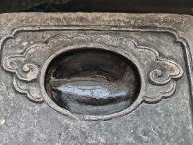 清代老砚台石质细腻
