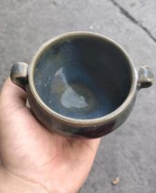 钧瓷香炉14633