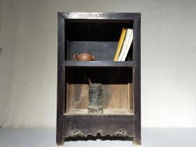 清代榆木书柜