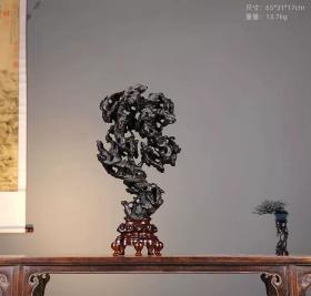 太湖石奇石厅堂大小型摆件天然原石传统中式造型装饰观赏石灵璧石