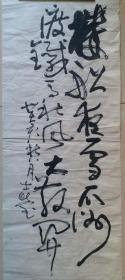 四川省美术家协会理事,诗书画院画家张士莹草书书法