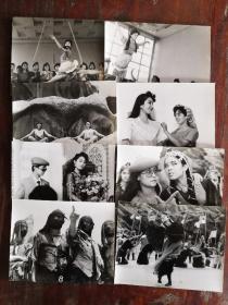 《男子汉舞厅的女明星》  电影黑白剧照包邮挂刷
