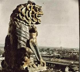 1938年的太原老照片8张5吋的gxs