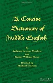 A Concise Dictionary Of Middle English-简明中古英语词典