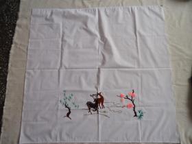 手工刺繡門簾