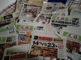 2008年有關歐洲杯的裁成單張的報紙
