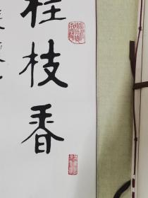 中国书协会员浙江著名书法家江南人原名杜世金作品28平尺保真