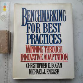 Benchmarking For Best Practices 精装