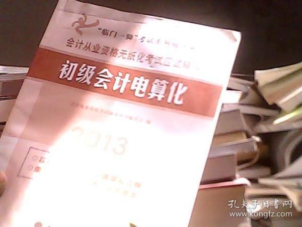 """""""临门一脚""""考试系列辅导丛书·初级会计电算化:2014会计从业资格无纸化考试应试辅导"""