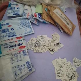 邮戳卡(0.4公斤,大概有几千个,年代2000-2011的居多,一年的装一个袋子里)