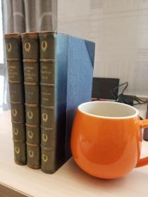 兰姆 3本小书 Last essay of elia, Letters of Charles Lamb. 书信集两册,伊利亚随笔续编 Riviere & Son 出品 1920年 书顶刷金