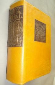 1832年- THE NEW FAMILY HERBAL 西方草药医学经典《新家用本草图谱》珍贵初版本  大量手工水彩上色版画插图 牛皮精装