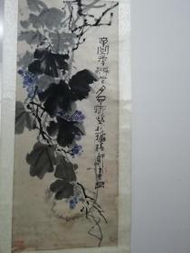 太和著名书画家陈子卿立轴作品