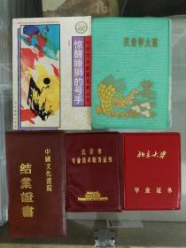 特殊年代六五年考入北京大学,80年发的北京大学毕业证