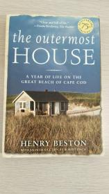 The Outermost House : A Year of Life on the Great Beach of Cape Cod  【英文原版,品相佳】