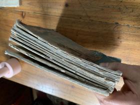 5207:少年文艺存1955年11,1958年1,1960年1 , 1961年 11,1962年7 8合刊  11,1963年 12 ,1964年 1.,共8册