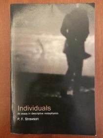 Individuals: An Essay in Descriptive Metaphysics(进口原版,国内现货)