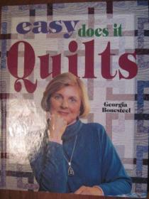Easy Does It Quilts (For the Love of Quilting)-Easy Dos It被子(为了热爱绗缝)