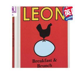 快乐柠檬:早餐与早午餐 英文原版 Little Leon: Breakfast & Brunch Leon Restaurants Conran 精装 食谱 面包烘焙