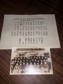 新翻拍老照片 天津市立第二中學1947年畢業同學合影