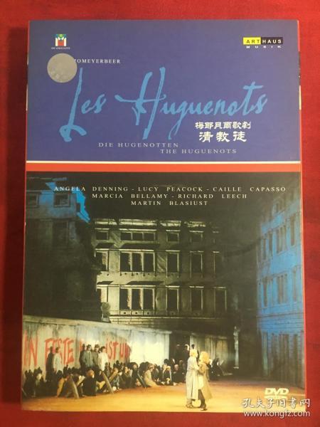 梅耶贝尔歌剧 清教徒 DVD〔盒装 品好。可收藏〕