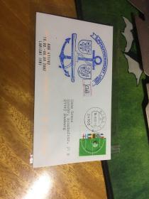 外國信封,海軍封,船錨徽章印戳,20190819