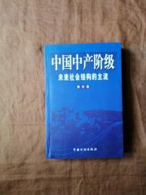 中國中產階級:未來社會結構的主流