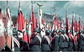 有关纳粹时代希特勒等社会状况照片29张5吋的hw