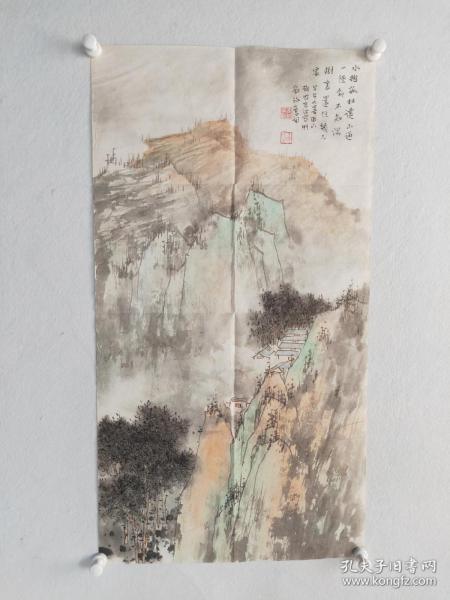 高波  山水軟片  尺寸87x45
