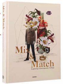 MIX AND MATCH 當代拼貼藝術exploring 平面設計書籍 混合與搭配