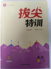 2019秋 通城学典 拔尖特训 英语 七年级上 译林版