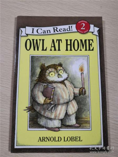 Owl at Home (I Can Read, Level 2)猫头鹰在家 英文原版