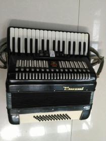 鸚鵡牌手風琴~背帶斷裂,正常拉奏