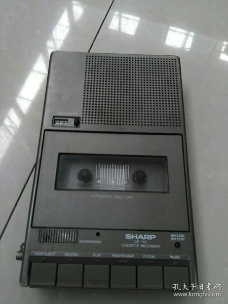 夏普,錄音機