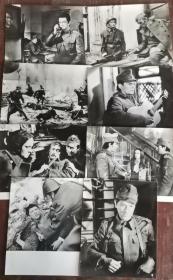 《十六个人》  电影黑白剧照包邮挂刷