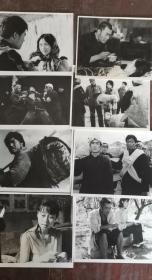 《黄河在这转了个湾》  电影黑白剧照包邮挂刷