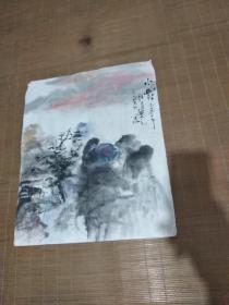庆元先生画——小幽村