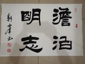 陕西省书法家作品,新峰。