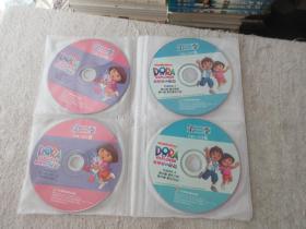 爱探险的朵拉 第三季52-77集  13张VCD光盘