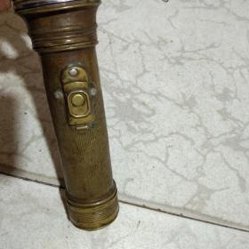 民国大象牌铜手电筒