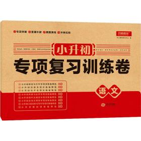 小升初专项复训练卷 语文 小学小考辅导  新华正版