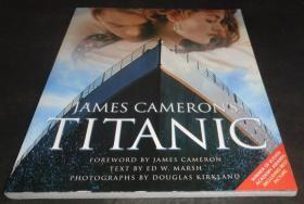 2手英文 James Cameron's Titanic 詹姆斯·卡梅隆的泰坦尼克号 sab87