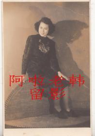 民国电影明星: 利青云小照一枚【10.5+7cm】(2)