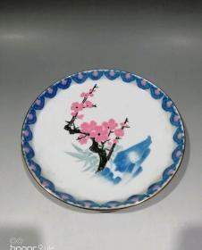 醴陵瓷《盘子》19622