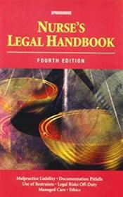 Nurse's Legal Handbook-护士法律手册